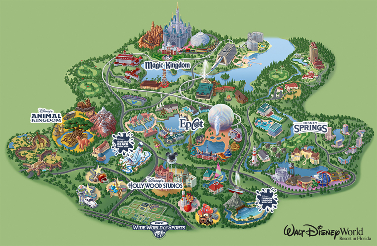 Walt Disney World resort in         Florida