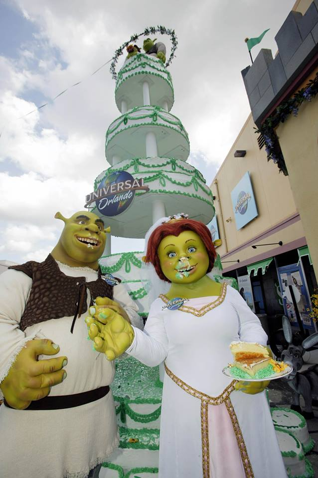 Universal Studios Birthday Cake