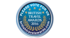 VOTE IN THE BRITISH TRAVEL AWARDS