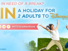 *Competition!* Win a Break for 2 Adults to Disneyland® Paris!
