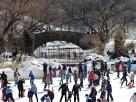 Ice Skating Sweeps its Way Back into Central Park Get your skates on!