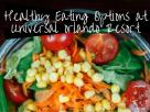 Healthy Eating Options at Universal Orlando Resort