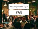 9 of our Favourite Quirky Bars in Paris A Russian bar, a speak easy and much much more...