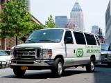 NYC Airport Transfers Shared van can save you £10pp over taking a taxi.