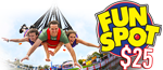 FREE $25 Cash Card per person to spend at Fun Spot Orlando