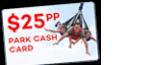 FREE $25 Cash Card per person to spend at Fun Spot Orlando