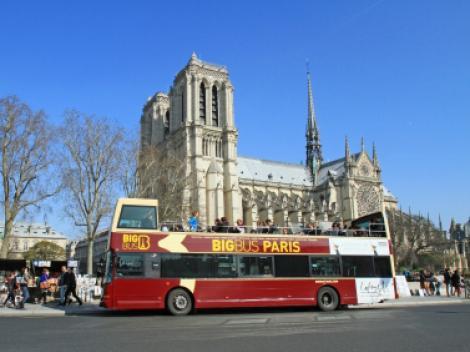Big bus paris hop on hop off bus tour - Bus 351 paris ...