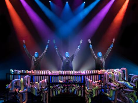 Blue Man Group X Files Theme 99