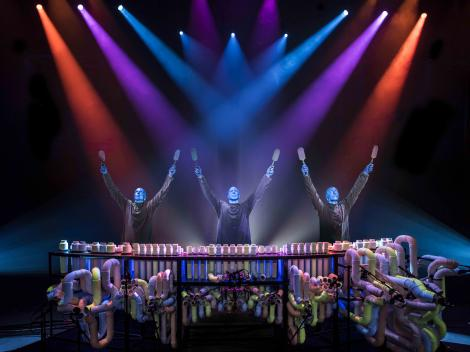 Blue Man Group Schedule and Tickets