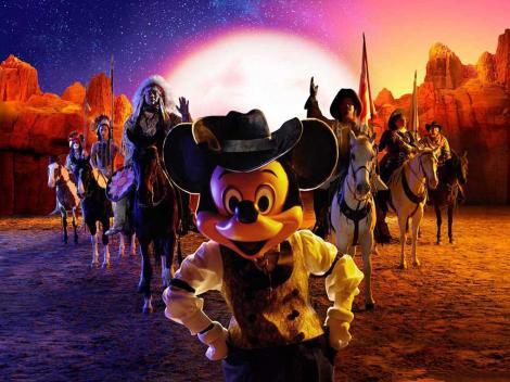 Buffalo Bill's Wild West Show at Disneyland Paris