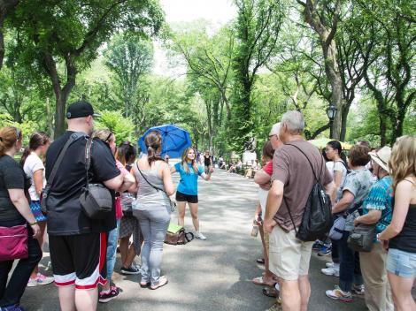 Central Park Tv Movie Sites Walking Tour
