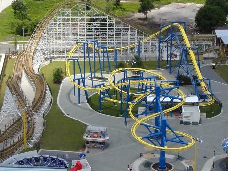 Roller Coasters - Fun Spot