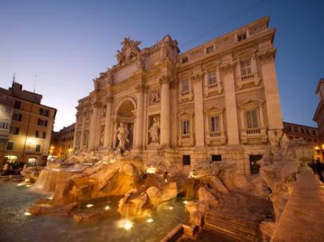 Illuminated Rome by Night