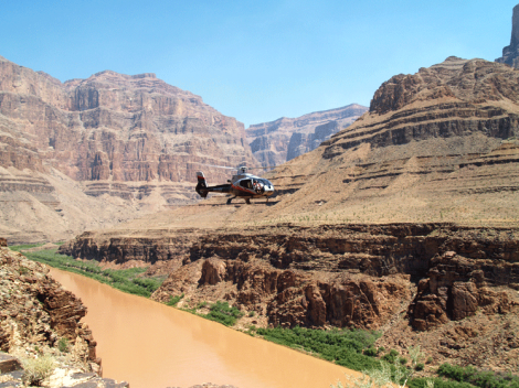 Indian Territory Grand Canyon Helicopter Flight Tickets