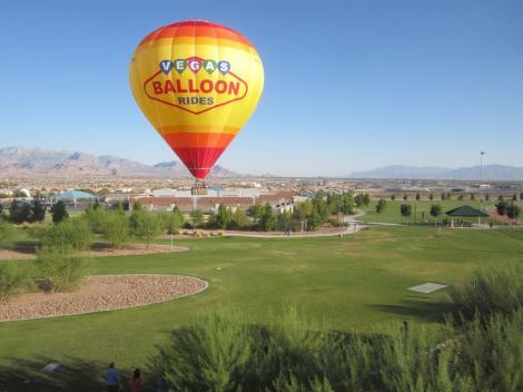 Las Vegas Hot Air Balloon Flight