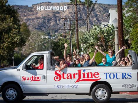 Movie Stars' Homes Tour and Hollywood Boulevard from Anaheim