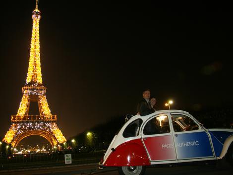 Paris at Night by 2CV