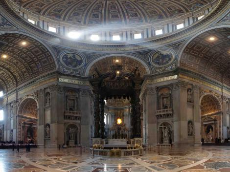 Rome Hop-on/Hop-off Bus Tour plus St Peter's Basilica