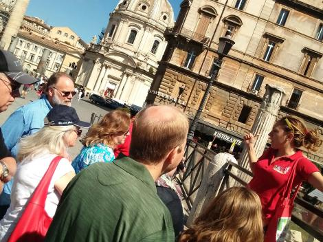 Rome Pizza Food Walking Tour