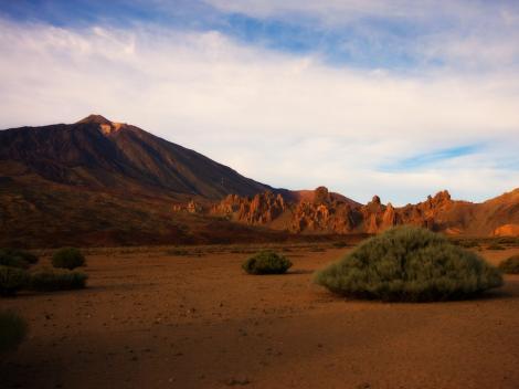 Barren Teide National Park