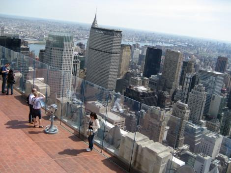 """Tour of Rockefeller Center – For a full Rockefeller experience, be sure to go on a guided tour of the """"hub of Manhattan"""", Rockefeller Center, which has earned the status of a National Landmark. Comprised of 19 commercial buildings, the center is spread out over a space of 89, square meters."""