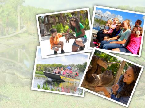 Free Airboat Ride and Wild Animal Park Admission with Orlando Bookings