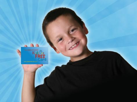 Free Kids Eat Free Card with Orlando Bookings