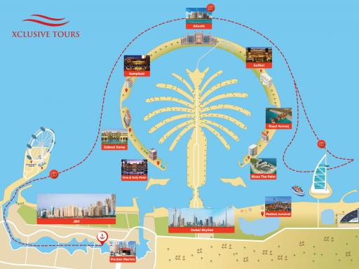 90-minute Speedboat Tour: Marina, Atlantis, Palm & Burj Al Arab