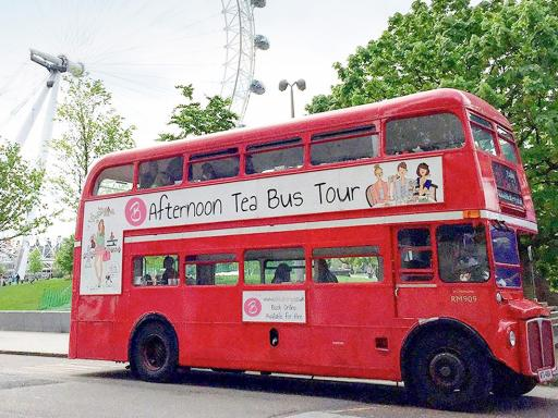 BB Bakery Vintage Afternoon Tea Bus Tour for Two Experience Voucher