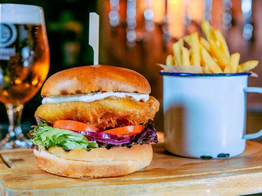Beer Masterclass with Tastings and Gourmet Burger Meal for Two
