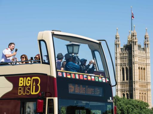 Big Bus London Hop On Hop Off Bus Tour