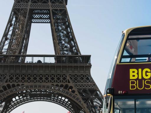 Big Bus Paris Hop-on Hop-off Bus Tour