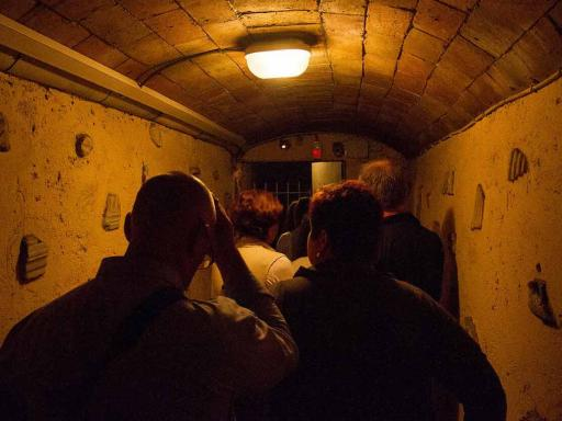 Catacombs at Night– Small Group Tour