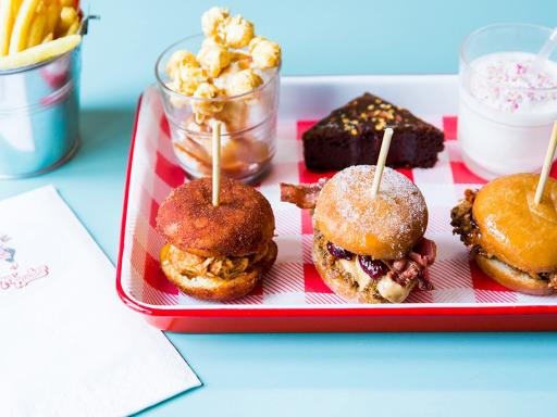 Dirty Birds and Doughnuts Afternoon Tea for Two