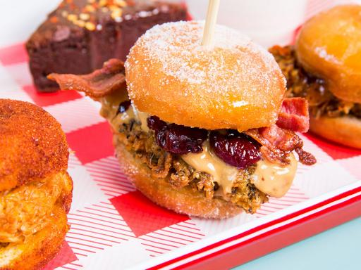 Dirty Birds and Doughnuts Afternoon Tea