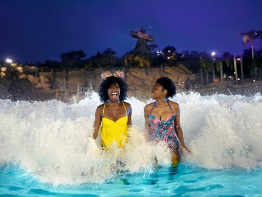 Disney H2O Glow Nights Pool Party at Typhoon Lagoon
