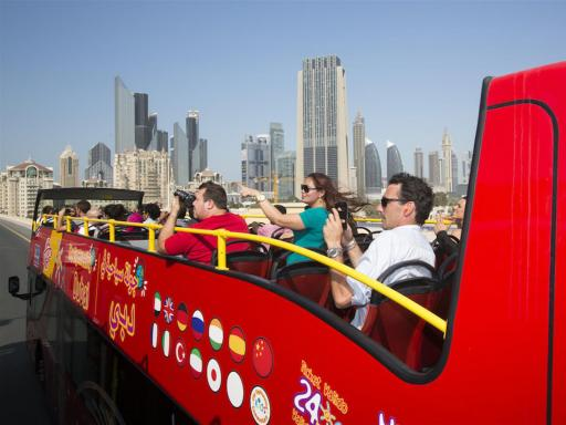 City Sightseeing Dubai Hop On Hop Off Double Decker Bus Tour