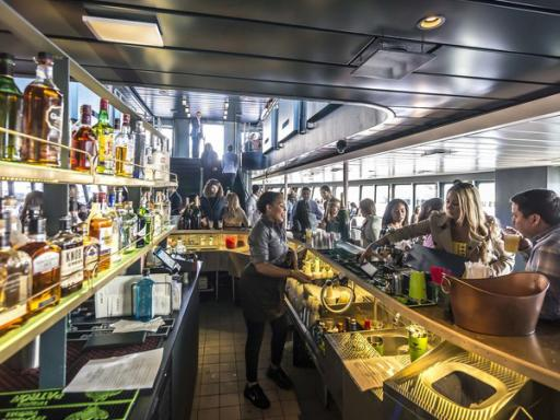 Hudson's at Pier 81 4-Course Dinner Cruise
