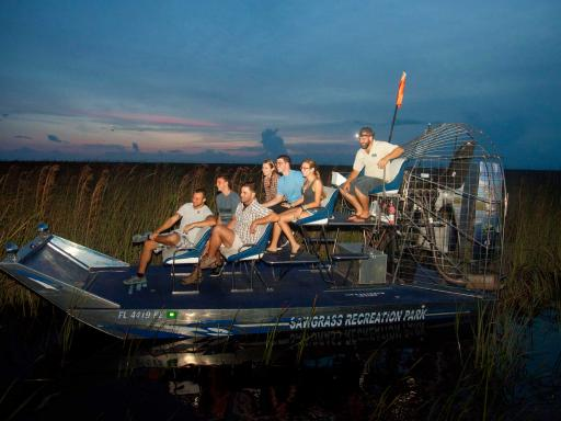 Florida Everglades Airboat Rides at Sawgrass Recreation Park