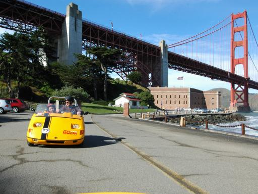 GoCar GPS Guided San Francisco Tours
