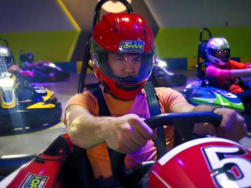 I-Drive Nascar Go Karting