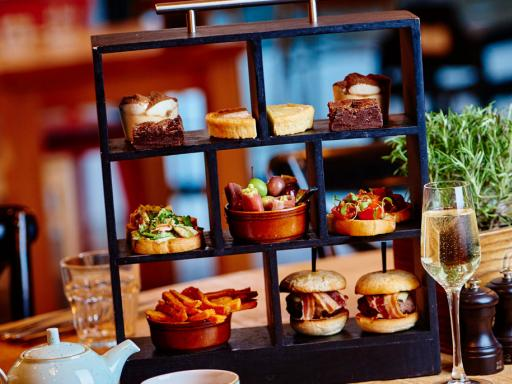 Italian Afternoon Tea with Prosecco for Two at Marco Pierre White