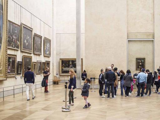 Closing Time At The Louvre: The Mona Lisa At Her Most Peaceful