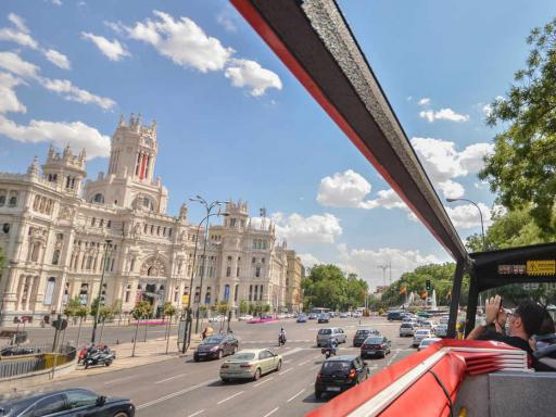 Madrid Hop On Hop Off Double Decker Bus Tour