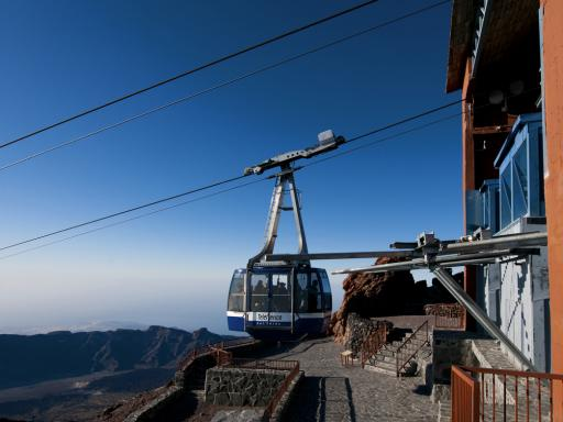 Mount Teide Sunset Cable Car Ticket & Pick-up from the South