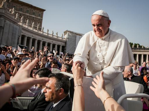 Papal Audience at Vatican City