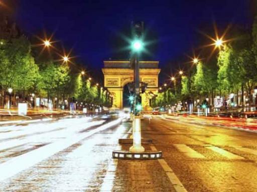 Paris Illuminations by Open Top Bus