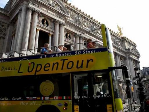Paris L'Open Hop-on Hop-off Bus Tour