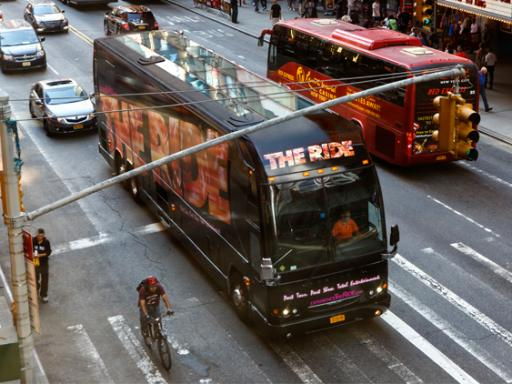 THE RIDE - NYC LARGEST MOTOR COACH