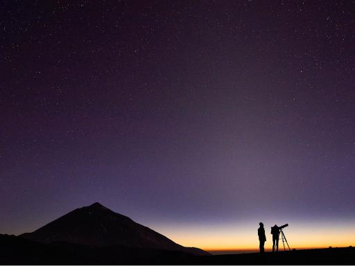 Sunset and Stars on Mount Teide